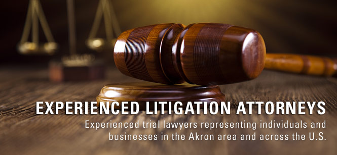 civil litigation attorney akron ohio