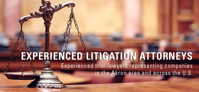 business litigation lawyer akron ohio